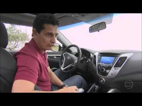 Auto Esporte testa o Hyundai Veloster.
