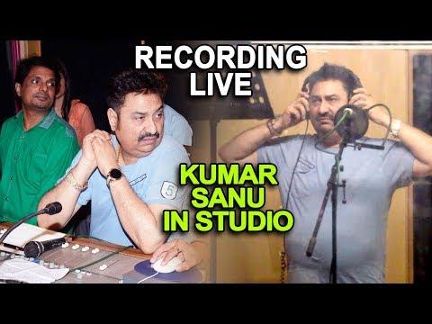 KUMAR SANU LIVE RECORDING IN STUDIO 2018 DAMODAR RAAO - LATEST SONG - BOLLYWOOD MELODY KING