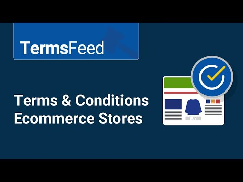 Terms & Conditions For Ecommerce Stores