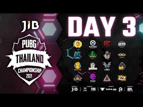 JIB PUBG Thailand Championship Season 8 DAY 3