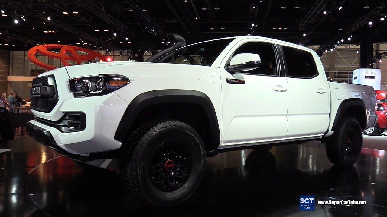 2019 Toyota Tacoma Trd Pro Exterior Interior Walkaround Debut