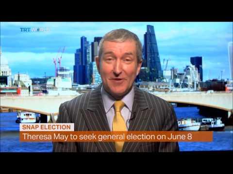 Brexit causes snap UK Election - TRT interviews Chris