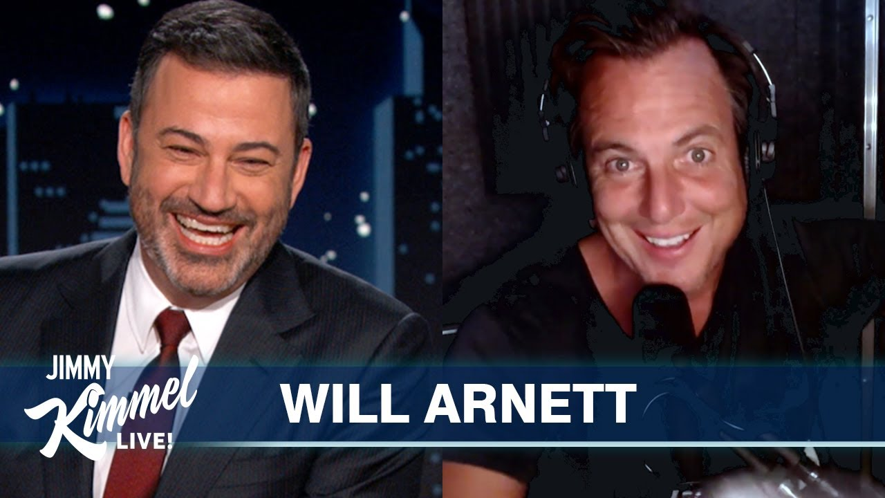 Download Will Arnett Saves the Day After Jason Bateman Bails on Jimmy Kimmel