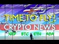 XRP (BTC ETH ADA) Time to Fly? - Crypto News with Kungfu Nerd - XRP Bitcoin Ethereum Cardano