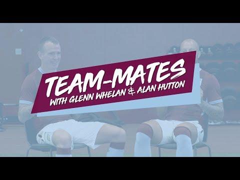 Team-mates: Glenn Whelan and Alan Hutton