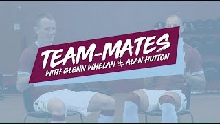 Team-mates: Glenn Whelan and Alan Hutton