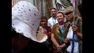 Италия, Ватикан, Монахини Святого Петра - грация, ариведерчи. Vaticano.(, 2012-10-14T12:36:37.000Z)