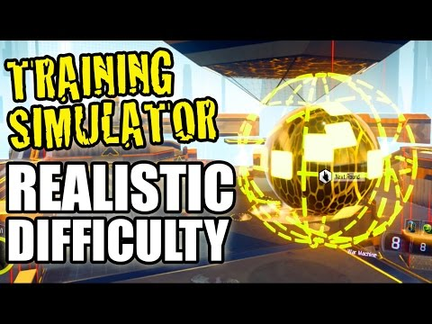 Realistic Difficulty Training Simulator Walkthrough Black Ops 3