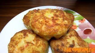 Картофельные котлеты с крабовыми палочками (затраты 50 рублей). Интересный рецепт