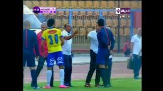 بالفيديو.. سعفان الصغير يحاول الاعتداء على حكم مباراة الإسماعيلي والمصري