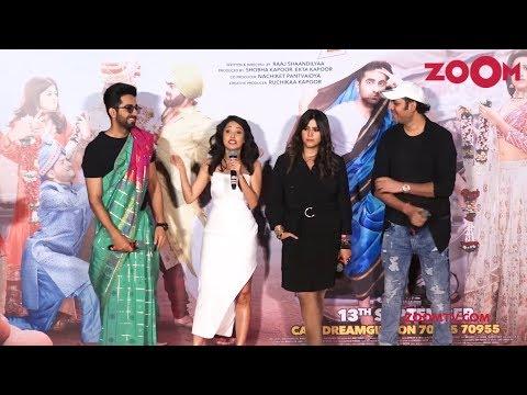 Dream Girl trailer launch event | Ayushmann Khurrana, Nushrat Bharucha, Ekta Kapoor | Bolly Quickie Mp3