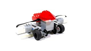 Rail track / Road Hybrid car : LEGO Technic
