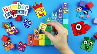 All New Numberblocks Coloring episodes!!! Numbers 1 2 3 4 5 6 7 Fun House Toys Learn to Count