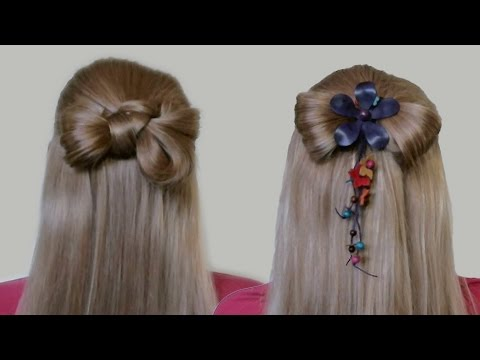 Hair bow how to do step by step video guide hairstyles for long hair bow how to do step by step video guide hairstyles for long hair urmus Choice Image