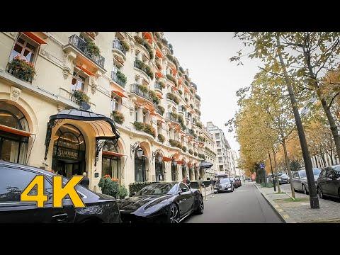 Walking tour in Paris, Avenue Montaigne - Paris Luxury Shopping Street
