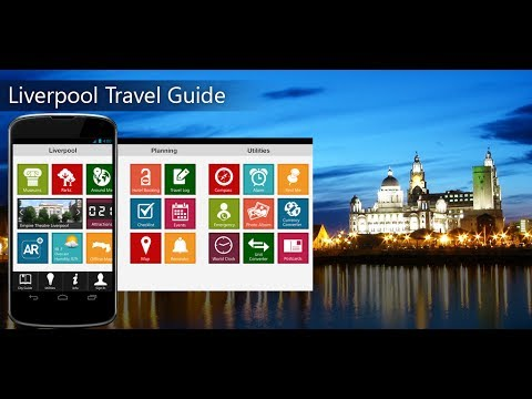 Liverpool Travel Android App Promo - Pangea Guides