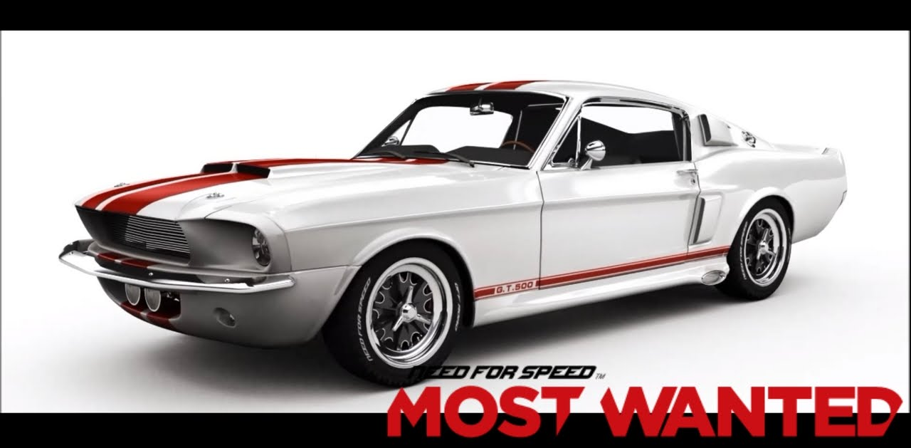 Need for speed most wanted 12 ford mustang shelby gt 500