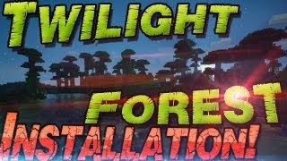 ⌦ Twilight Forest Minecraft Mod 1.7.10 Installation ⌫Riesen Bäume & Mehr! German Deutsch Mac Windows