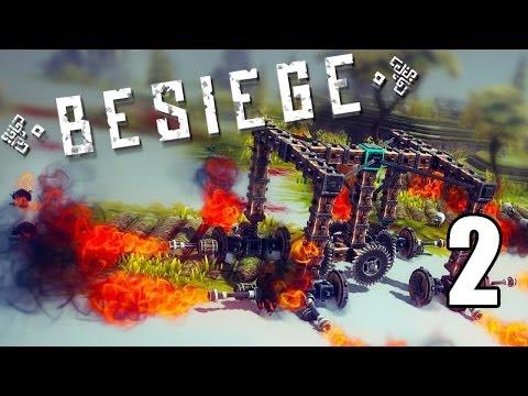 Besiege- Part 2 (Got my master's degree in Engineering)
