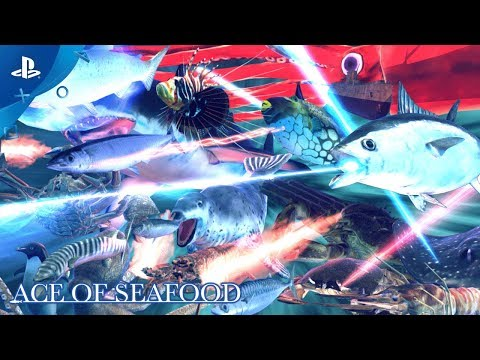 Ace of Seafood – Gameplay Trailer | PS4