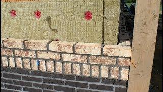 murowanie elewacji z cegły / masonry house / cegła CRH