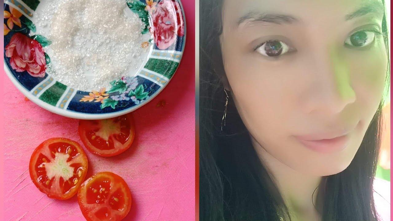 Scrub Tomat Dan Gula Pasir Untuk Menghilangkan Jerawat Flek Hitam Youtube
