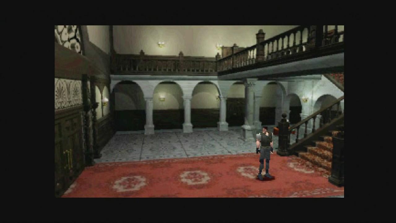 Resident Evil retro game
