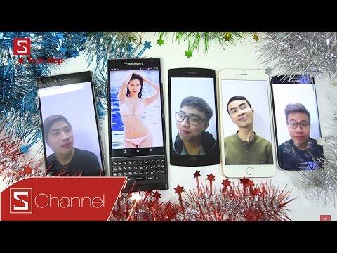 Schannel - Trao giải Smartphone Universe 2015 cùng Tân Một Cú & Tuấn Tò Mò & Chaien