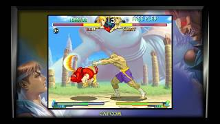 """Street Fighter® 30th Anniversary Collection SF ALPHA 2 Arcade Mode Ken """" With Shin Akuma Defeated """""""
