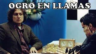 DESTROZADO POR UN OGRO Timman vs Kasparov Tilburg 1991