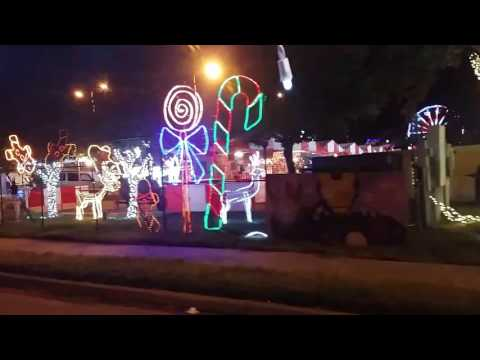Festival of lights hidalgo tx...parque de luces hidalgo texas 2016