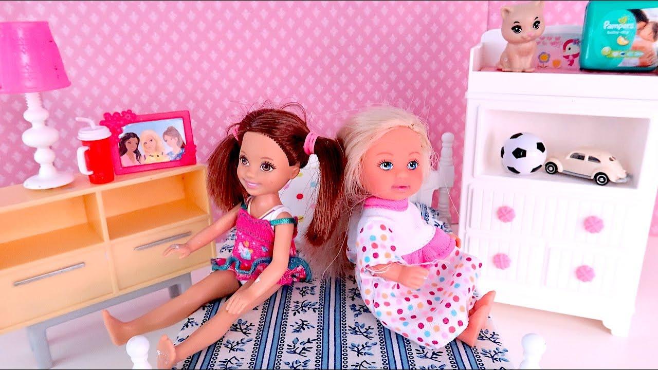 Катя и Эви Больше Не Подруги, Мама Отрезает Волосы Мультики Мама Барби Сериал IkuklaTV