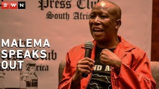 Economic Freedom Fighters (EFF) leader Julius Malema addressed the media in Cape Town on Friday morning on several issues, including their stance on wanting Pravin Gordhan ousted, protesting former President FW de Klerk's presence at Sona 2020 and their call for President Cyril Ramaphosa to be held accountable.  #MalemaAtPressClub