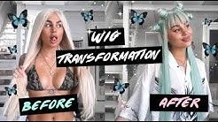🦋⭐UNI WIGS HUMAN HAIR WIG TRANSFORMATION DIY ⭐🦋