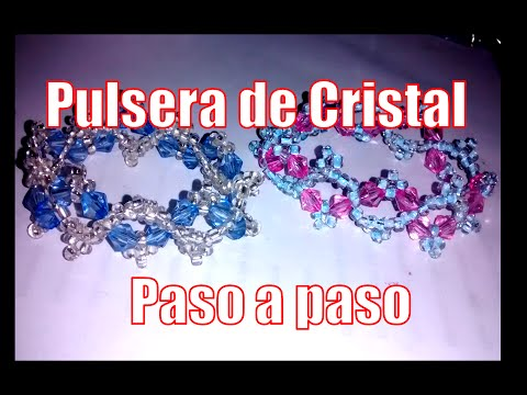 Crystal Bracelet - Fine Jewelery (step by step tutorial)