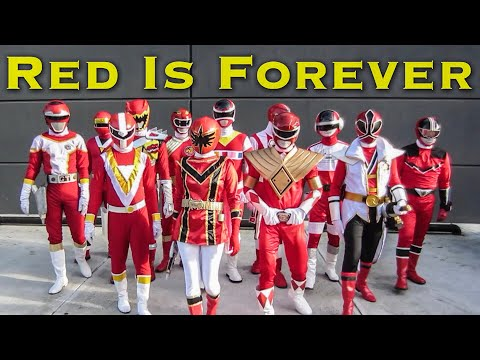 Red Is Forever [FOREVER SERIES] Power Rangers | Super Sentai