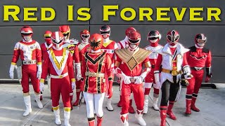 Red Is Forever [FOREVER SERIES] Power Rangers | Super Sentai thumbnail
