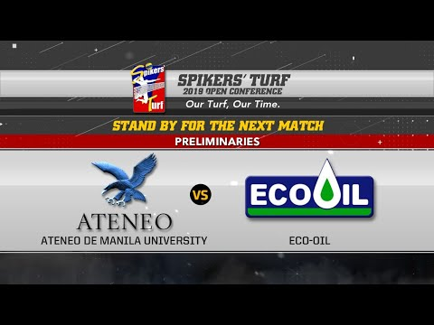 Spikers' Turf 2019 Open Conference: ATENEO vs ECO-OIL