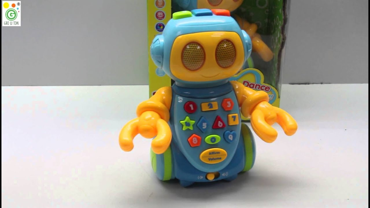 GL2363E Toy Robot Moving Dancing Singing and Telling Stories