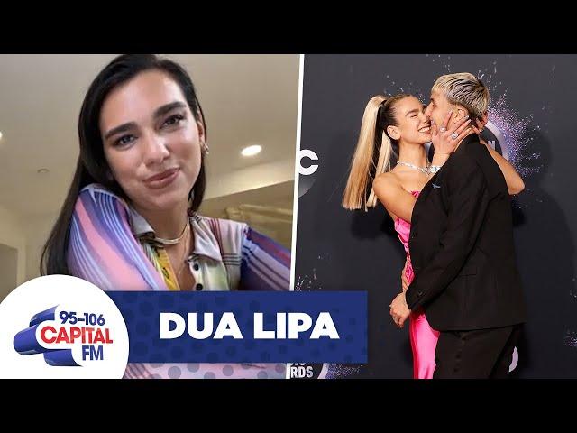 Dua Lipa Reveals Boyfriend Anwar Hadid\'s Birthday Gift | Interview | Capital