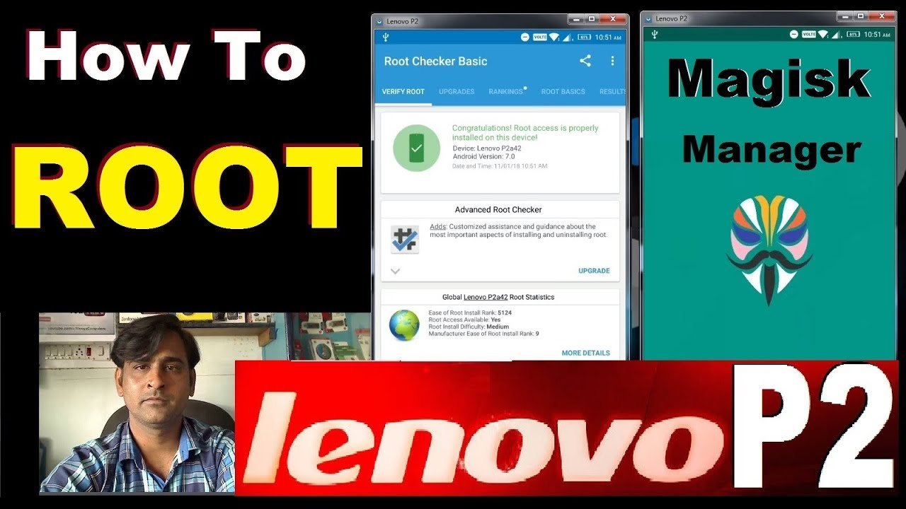 How To Root Lenovo P2 With Magisk Manager V15 2 Final_2018 Without PC