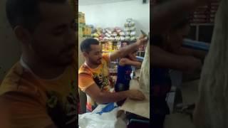 Briga de clientes em supermercado Buíque-Pe.
