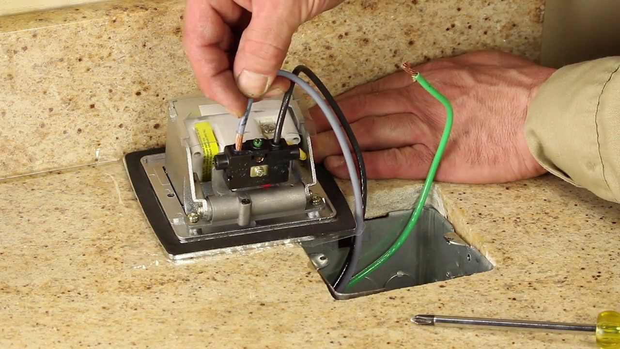 Pufp Ct Counter Top Box Installation Guide Lew Electric