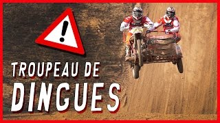 Sidecar Cross : Moto Cross with 3 wheels for nuts riders !!