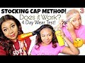 Trying The STOCKING CAP METHOD for the 1st Time + 4 Day Wear Test | RPGHair!