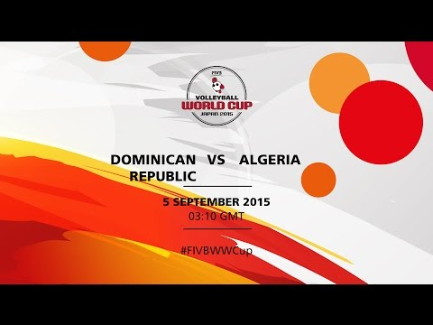 Dominican Republic v Algeria - FIVB Volleyball Women's World Cup Japan 2015