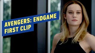 Avengers: Endgame - First Clip (Brie Larson, Chris Evans, Chris Hemsworth)