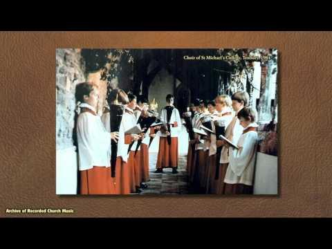 BBC Choral Evensong: St Michael's College Tenbury 1984 (Roger Judd)