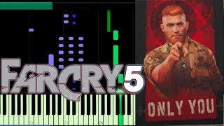 FAR CRY 5 - ONLY YOU - The Platters  | piano cover | Synthesia