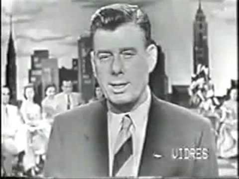 Arthur Godfrey Makes Plea for Aid to Holland - Walter Cronkite - Andy Rooney - 1953